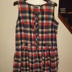 Dresses & Skirts - Plus Sz. Vintage Plaid Dress